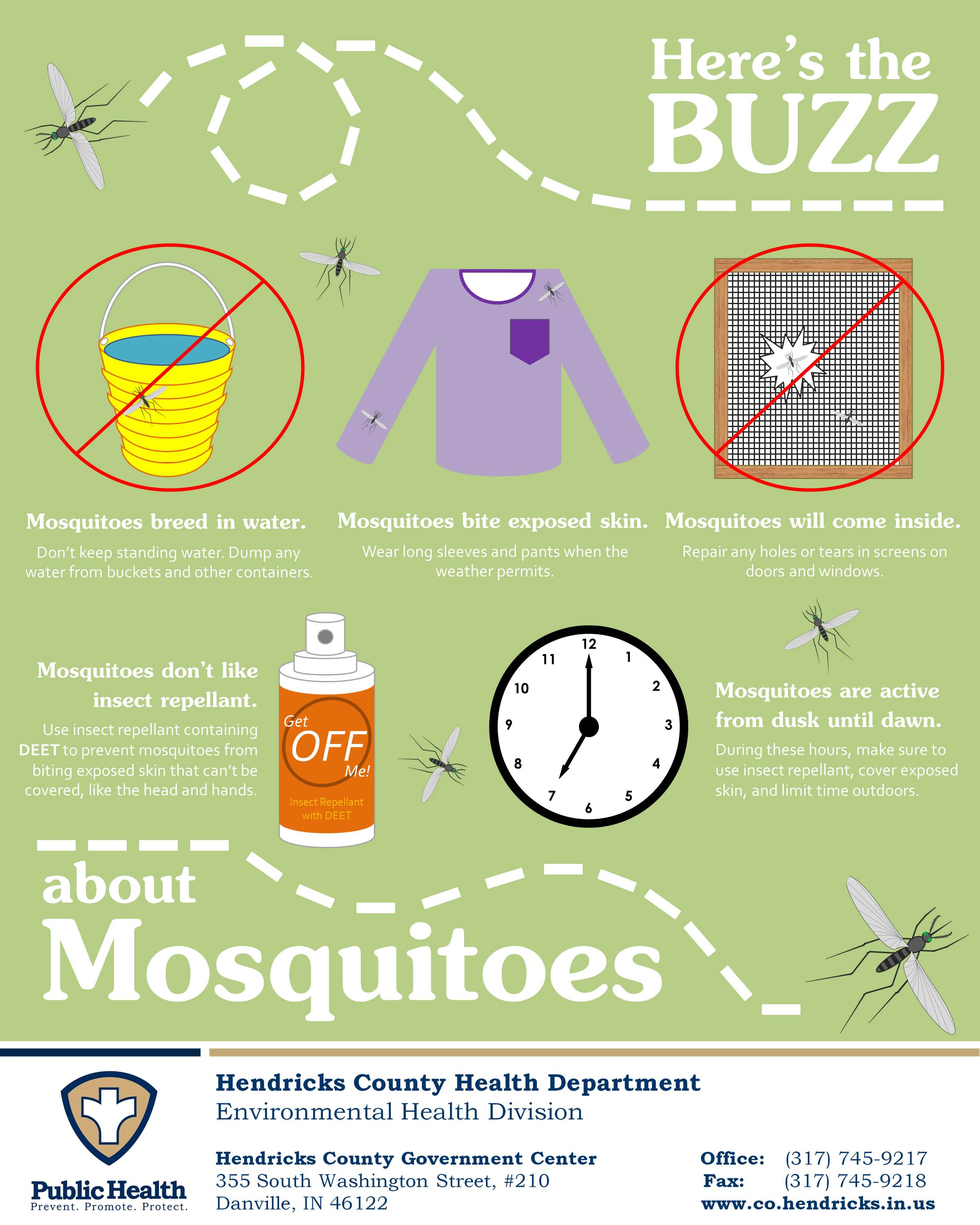 Here's the Buzz about Mosquitoes