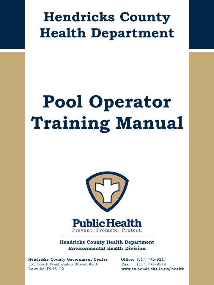 Pool Operator Training Manual